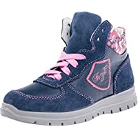 Kotofey Girls Blue Boots with Pink Shoelaces 652060-21 Little Kid 2.5-3 (EU 34)