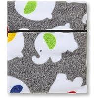 Hotties microhottie Wärmflasche mit grau Elefant Polyester Fleece preisvergleich bei billige-tabletten.eu