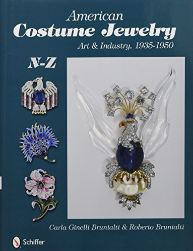 American Costume Jewelry: Art & Industry, 1935-1950, N-Z: Art and Industry, 1935-1950, N-Z: 2 por Roberto Brunialti