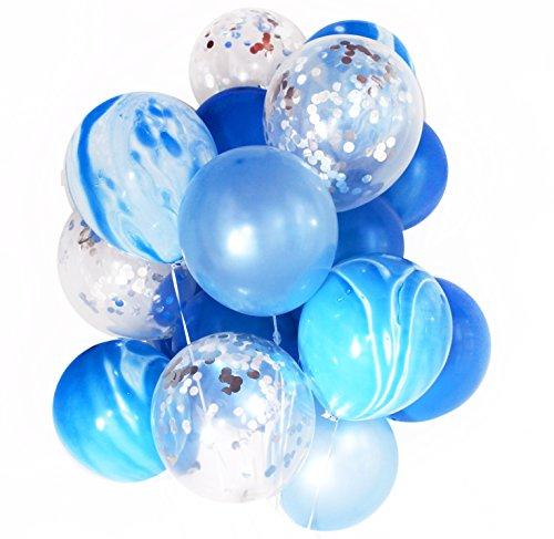 Preisvergleich Produktbild Konfetti Ballon Bouquet Hochzeit Geburtstag Party Dekoration Verdickte Helium Qualität Luftballons Vintage bereit zum Aufblasen