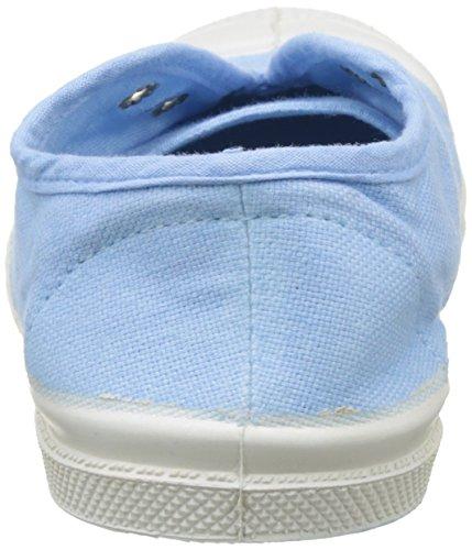 Bensimon Tennis Elly Enfant, Baskets mode mixte enfant Bleu (Bleu Clair)