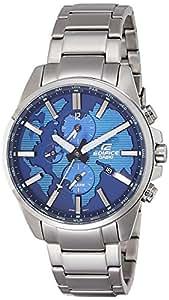 Casio Edifice Analog Blue Dial Men's Watch - ETD-300D-2AVUDF (EX310)