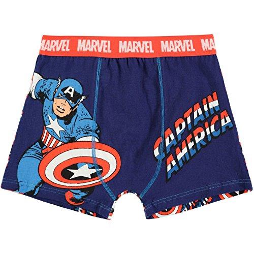 Marvel Captain America -  Boxer  - ragazzo blu 13 anni