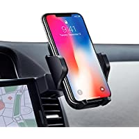 Soporte Móvil Coche Universal para Ranura de CD de Coche,Air Vent Car Mount Soporte para Cuna de un Toque 360 ° Rotación para iPhone 7 / 7plus / 6s / 6 / 6s plus / 6 más,InnoMagi