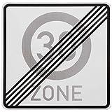 ORIGINAL Zonenschild Ende ZONE 30 zum 40. Geburtstag Verkehrszeichen 274.1 Schild Geburtstagsschild Anfang RAL Straßenschild Schilder Verkehrsschilder Straßenschilder Straßenzeichen Verkehrsschild