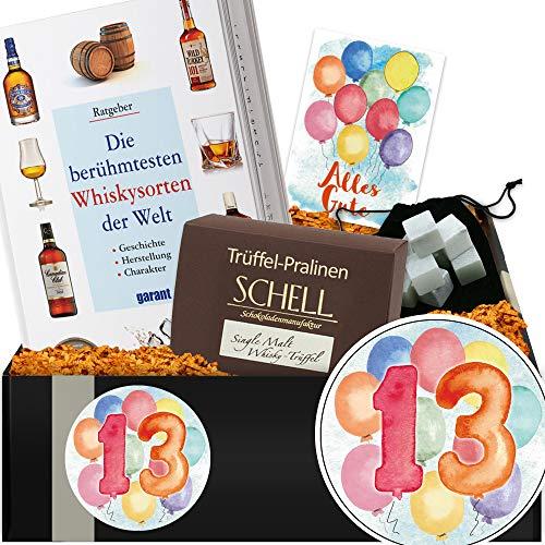Geschenkidee 13. Jubiläum | Whisky Geschenk | 13 Hochzeitstag Geschenk