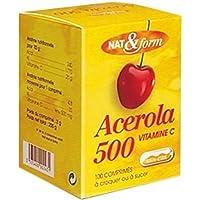Nat & Form Acérola + 100 comprimés -