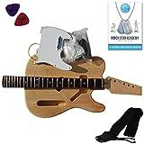 Stretton Payne - Kit Telecaster Guitare Electrique à Assembler Soi-Même