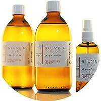 Preisvergleich für PureSilverH2O 1100ml Kolloidales Silber (2X 500ml/10ppm) + Spray (100ml/10ppm) Reinheit & Qualität seit 2012