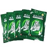 MQ Patch de Baume du Tigre Blanc Vietnam Chauffant Anti-Douleur Soulager Douleurs de Dos Cou Épaule Jambes Musculaire Lombaire Traitement de Arthrite Rhumatisme (40 Patchs/ 5 Sachets)