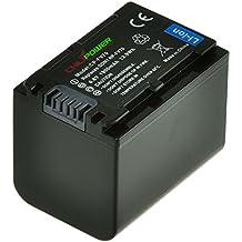 Batería ChiliPower Sony NP-FV70 1900mAh para Sony DCR-SR15, SR21, SR68, SR88, SX15, SX21, SX44, SX45, SX63, SX65, SX83, SX85, FDR-AX100, HDR-CX190, CX290, CX380, CX430V, CX520V, CX550V, CX560V, CX580V, CX700V, CX760V, CX900, HC9, PJ10, PJ30V, PJ50, PJ380, PJ430V, PJ540, PJ580V, PJ650V, PJ710V, PJ760V, PJ790V, PJ810, TD30V, XR150, XR155, XR160, XR260V, XR350V, XR550V, HXR-NX3D1U, NX30U, NX70U, NEX-VG10, VG30, VG30H, VG900