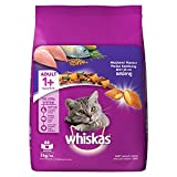 Whiskas Adult Cat Food Pocket Mackerel, 3 kg Pack
