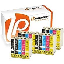 bubprint 30 x CARTUCCE PER STAMPANTI COMPATIBILI PER EPSON T1291 T 1291 T1292 T 1292 T1293 T 1293 T1294 T 1294 Stylus SX435W SX 435 W NERO CIANO GIALLO MAGENTA