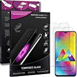 SWIDO Panzerglas Displayschutzfolie kompatibel mit Samsung Galaxy M20 (2 Stück) - 9H Panzerglas Folie, HD, Panzerfolie, Tempered Glass Schutzglas, Schutzfolie, Glas, Displayschutz, Ultra-Clear
