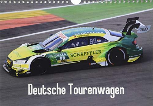 Deutsche Tourenwagen (Wandkalender 2018 DIN A4 quer) Dieser erfolgreiche Kalender wurde dieses Jahr mit gleichen Bildern und aktualisiertem ... aus der DTM 2017 (Monatskalender, 14 Seiten ) por Thomas Morper
