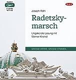 Radetzkymarsch: Ungekürzte Lesung (2 mp3-CDs) - Joseph Roth