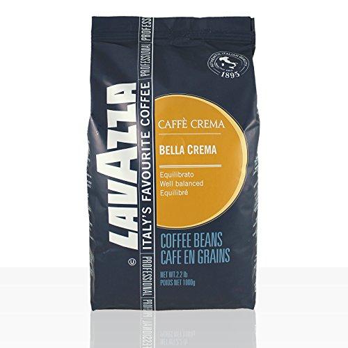 Lavazza Caffé Bar Bella Crema, ganze Bohnen, Bohnenkaffee, 1000g thumbnail