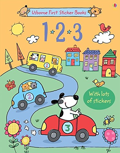 1 2 3 sticker book. Con adesivi. Ediz. illustrata (Libri stickers)