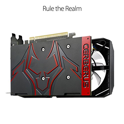 Asus GeForce GTX 1050 Ti 4 GB CERBERUS Video Card