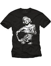 Marilyn Monroe T-Shirt - Tattoo Pin UP