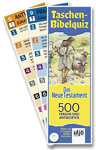 °° Quizfächer - Taschen-Bibelquiz Neues Testament NT