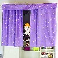 Calli Litera dormitorio cama cortina estrella plateado paño ...