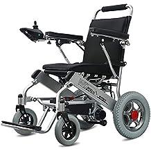 Wheel-hy Silla de Ruedas eléctrica de Aluminio Plegable - Prim Ancho de Asiento 45