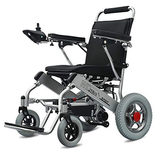 Wheel-hy Silla Ruedas eléctrica Aluminio Plegable