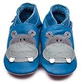 Produkt-Bild: Inch Blue Krabbelschuhe Hippo Blue/Grey, Medium