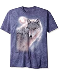 The Mountain Adventure Wolf T-shirt lilas
