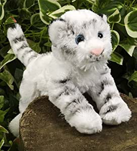 Wild Republic 18cm Hug'Ems Tiger Plush (White)