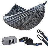 Anyoo Camping Fallschirm Hängematte Ultraleicht zum Wandern Backpacking Strand