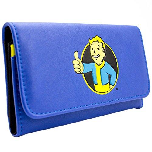 Bethesda Fallout 4 Thumbs Up Vault Blau Portemonnaie (Commonwealth Kostüme Spiele)