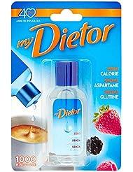 My Dietor Edulcorante, Zero Calorie senza Aspartame senza Glutine - 50 ml