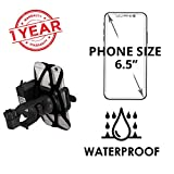 #10: Blackcat Mobile Holder with Charger for Bikes Compatible with All Smartphones (Black)