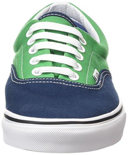 Vans Era Scarpe da Ginnastica Basse, Unisex – Adulto Multicolore (2 Tone/dress Blues/kelly Green)