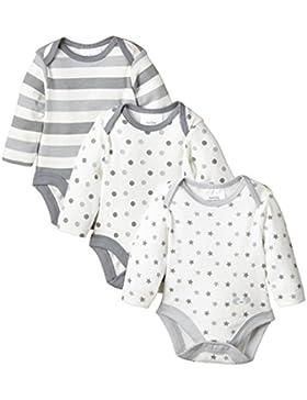 Twins Unisex Baby Kurzarm-Body im 3er Pack