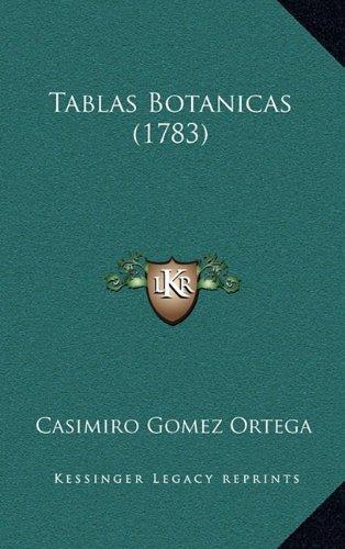 Tablas Botanicas (1783)