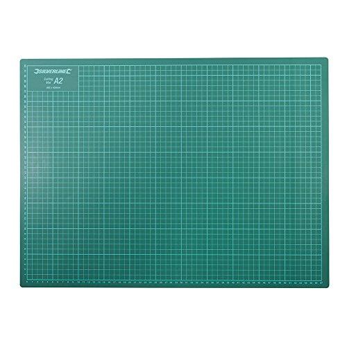 Silverline 708532 Schneidematte green
