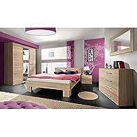 Amazon.it: camera da letto matrimoniale - Quercia / Arredamento ...