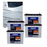 Luminous Cruze 3.5KVA Sine Wave Home UPS With (ILTT 24060 Battery 4Qty.)