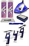 SkinStar Skispanner Profi Langlauf LL Skiwachs-Set Wachsbügeleisen Skihalterung...