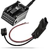 Adaptador de Universe Bluetooth AUX IN Adaptador Cable Amplificador + Cancelación del ruido filtro 12POL BMW 3E90E91E92E93Radio Navi Business SA 609650661662
