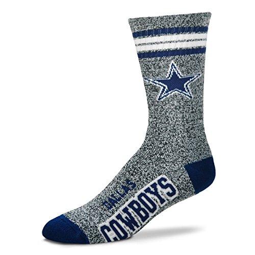 Dallas Cowboys Got marmorierte? Socken, Unisex-Erwachsene, Grau (Marble Grey), Medium (Cowboy Dallas Schuhe)