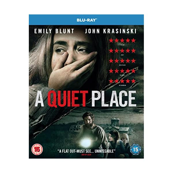 A Quiet Place (Blu-Ray) [2018] [Region Free] 51djl5PBWaL