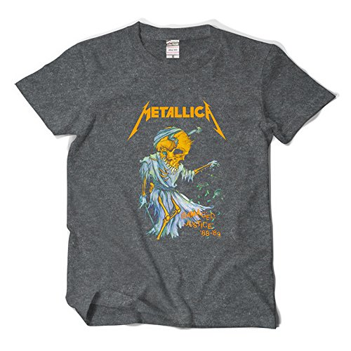 CosDaddy ® Metallica Damaged Justice Rock T-Shirt Fashion 3