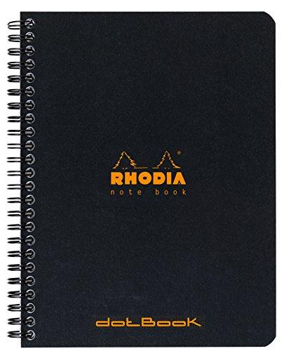 Clairefontaine para Classic cuaderno de espiral 160páginas Dot de puntos...