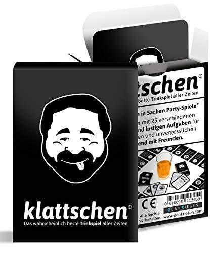GeschenkIdeen.Haus - Klattschen - Super witziges Trinkspiel/Saufspiel