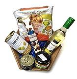 Präsent-Korb Blanco mit spanischen Tapas - Das kleine Feinkost Geschenk