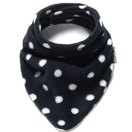 Lovjoy Neonato Bambino sciarpa di lana invernale (Polka bianco su nero) -  Allattamento e pappa - Panorama Auto c45d3819765b
